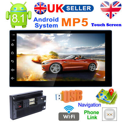 7 INCH CAR Radio Stereo Bluetooth MP5/GPS/TV/TF/AUX IN/EQ/AV  IN/DVR/WIFI/Android
