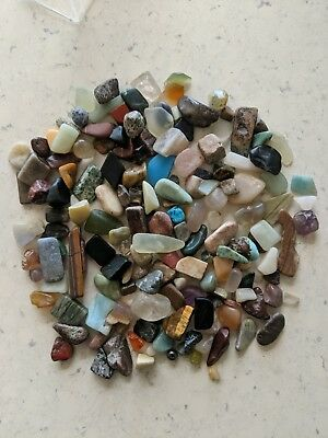 0.5kg of Assorted Tumbled Gem Stones - great gift idea