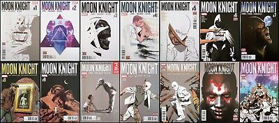 Moon Knight #1 - 14 (2016) Complete Lemire, Francavilla, Stokoe All 1st prints