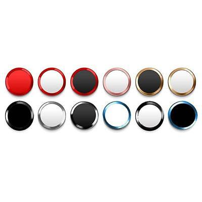 Touch ID Home Button Key Sticker Metal Ring Circle Cover For Universal Phone L