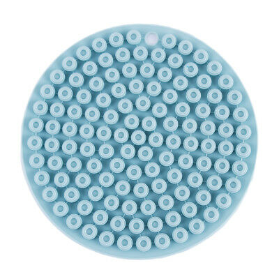 Durable Silicone Round Honeycomb Non-slip Heat Insulation Pads Placemat L