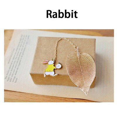 Rabbit Metal Bookmarks For Books Office Accessories Shool Stationery L