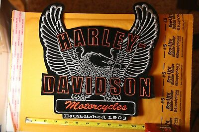 Harley Davidson Eagle Patch XXL