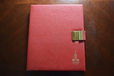 1980 Russia Olympics 28-Coin Silver Proof Set with Case & COA