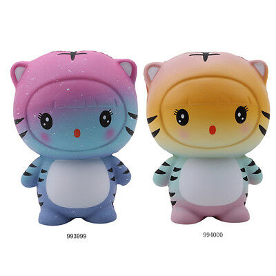Jumbo Slow Rebound Tiger Squishies Relieve Toy Simulation Toys Kids Adults L