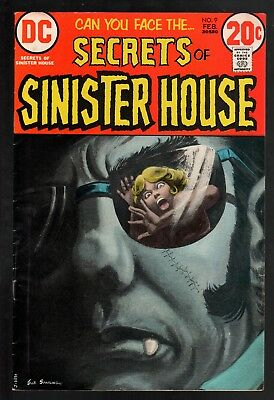 Secrets of Sinister House #9 VG/FN 5.0 DC Bronze Age Horror 1973!!!