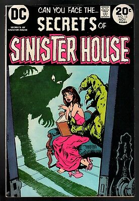 Secrets of Sinister House #15 VG/FN 5.0 Bronze Age Horror 1973!!!