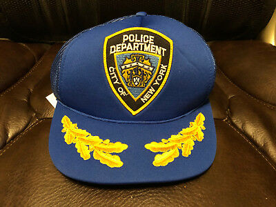 City Of New York Police Department Cap