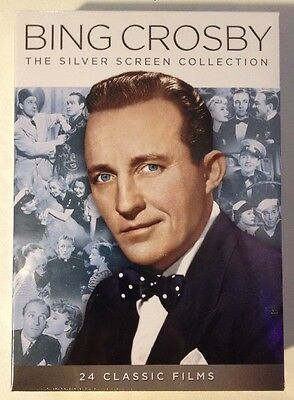 BING CROSBY: The Silver Screen Collection, 24 Films - NEW 13-DISC DVD SET!!