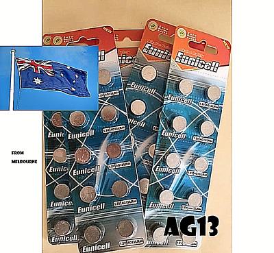 10 LR44 Blister/Loose  Battery AG13/A76 Button Cell 1.5V Batteries +10 LR44 FREE