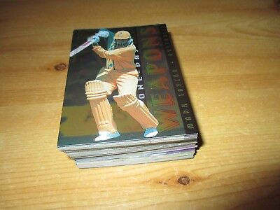 Futura Sports Trading Cards: 1995-1996 Elite Cricket Players Base Set.