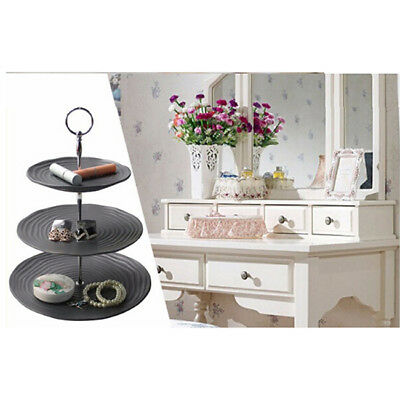 3 Tier Cake Cupcake Plate Stand Handle Hardware Fitting Holder Party Decor L