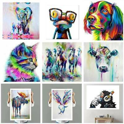 Unframed Modern Art Canvas Oil Painting Creative Animal Picture Print Poster NEW