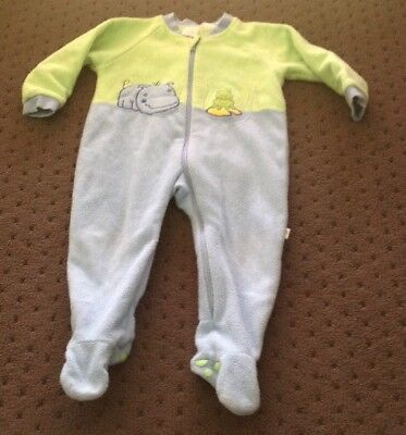 Snugtime Sleep Suit  Size 2 Blue and Green