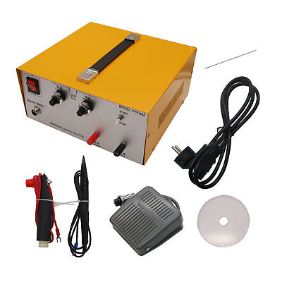 80A DX-808 Pulse Sparkle Spot Welder Gold Silver Jewelry Machine Tool 110V