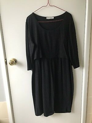 Angel Maternity Nursing Dress Large Size