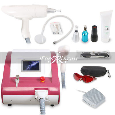 Professional Nd Yag Laser Whitening Skin Pigment Laser Tattoo Removal Machine