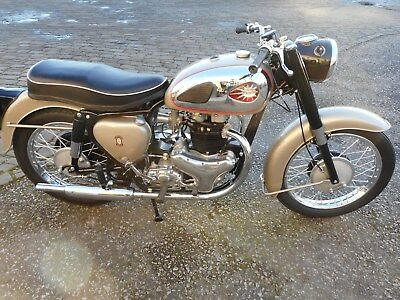 BSA A10 Gold Flash from 1961 fully restored