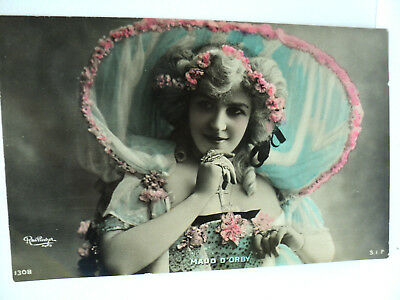 VINTAGE CPA REUTLINGER ACTRICE MAUD D'ORBY     c. 1905