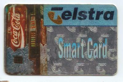 Pristine Mint Sample Coca Cola Telstra Smart Card Phonecard The Only One I Have