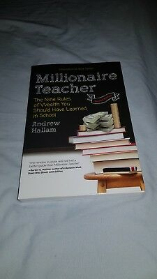 Millionaire Teacher Andrew Hallam 9 Rules of Wealth 2nd ed 2017 excellent con