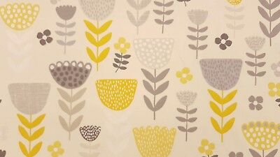 Creatieve hobby's Fryetts DALARNA Retro Floral/Bird Cotton Fabric for Curtain/ Upholstery/Cushions