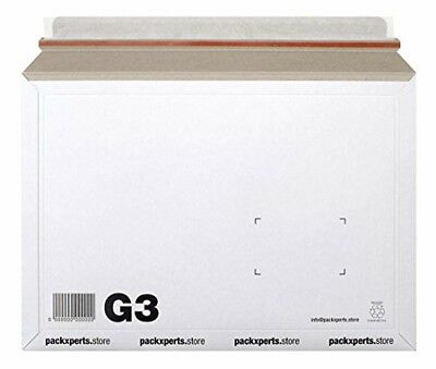PackX Perts G3 _ 352x249 _ 50X Extended Mailer Envelope – White (Pack of 5