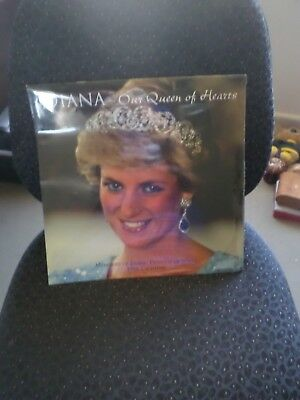 Diana Our Queen Of Hearts Memories Of Diana Calender 1998 Sealed