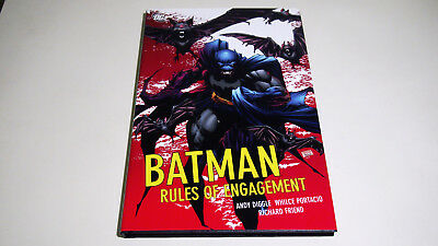 Batman Rules of Engagement HC Hardcover   Andy Diggle Whilce Portacio DC   NEW