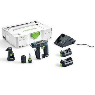 Festool CXS Li 2.6 SET 10.8V Li-ion Cordless Drill in Systainer | 564533