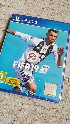 Fifa 19 PS4 Sealed With Code