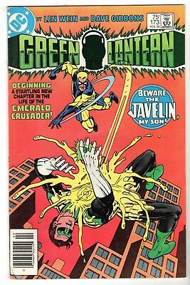 Green Lantern #173, Near Mint Minus Condition