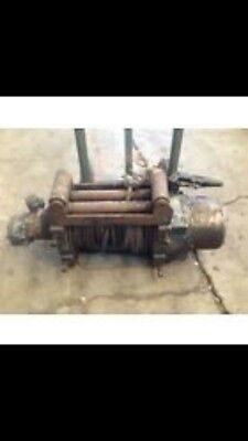 Large Hydraulic Recovery Winch - Ramsey, Heavy Duty