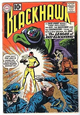 Blackhawk #165, Very Good - Fine Condition'