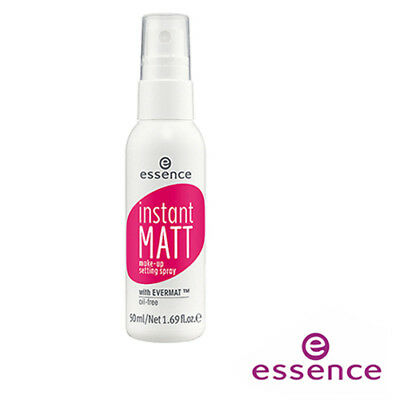 [ESSENCE] INSTANT MATT Oil-Free Makeup Setting Spray 50ml GERMANY NEW
