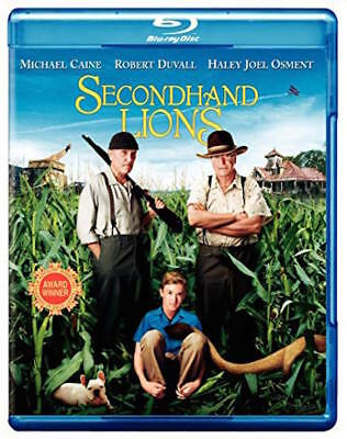 Secondhand Lions Blu-Ray - Single Disc Edition - New Unopened - Michael Caine