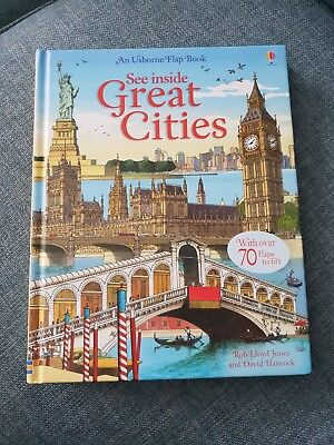 See Inside Great Cities (Usborne See Inside) - Hardcover NEW Rob Lloyd Jones 201