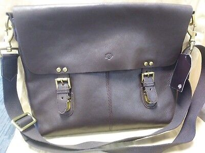 (Nwt) Authentic Mulberry England Messenger Crossbody Color  Coffee Retail   1 a994443d178a7