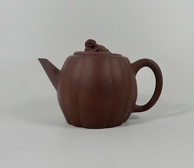 ChineseYixing stoneware teapot, 19th Century. Qing dynasty.