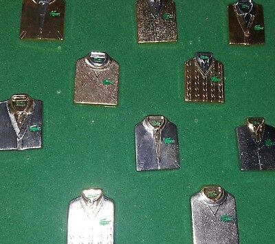 Collection Pin's Lacoste