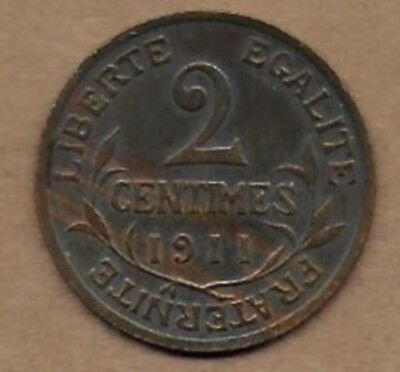 2 Centimes 1911