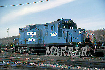 RR Print-Boston & Maine BM 1850 on 3/5/1985
