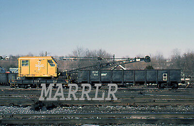 RR Print-Boston & Maine BM 40203 at Mechanicville NY 3/16/1983