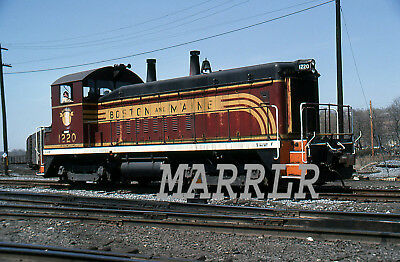 RR Print-Boston & Maine BM 1220 on 4/6/1980