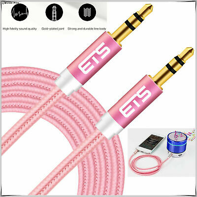3M 3.5mm Jack to Jack Aux Cable STEREO Audio Auxiliary Lead For Mp3 Mobile Phone
