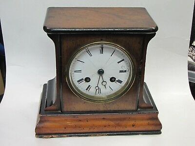A Small French Striking Mantle Clock
