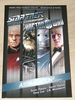 Star Trek The Next Generation/Doctor Who: Assimilation-2 TPB (2012 IDW) Volume 1
