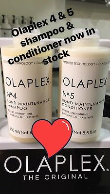 Olaplex Shampoo And Conditioner No.4 & 5 Treat Your Hair