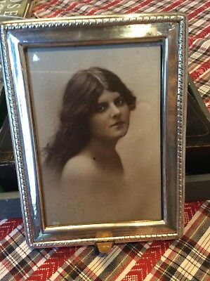 Lovely Old Solid Silver Picture Frame