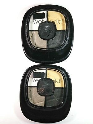 Lot of 2 Wet N Wild FERGIE Eye Shadow Collection #A031 Metropolitan Nights NEW!